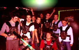 Enterrement de vie au laser game Paris