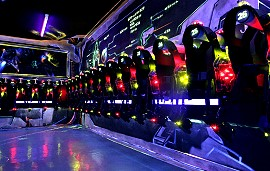 Privatisation aire de jeu laser game Paris