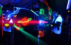 Rallye laser game Paris